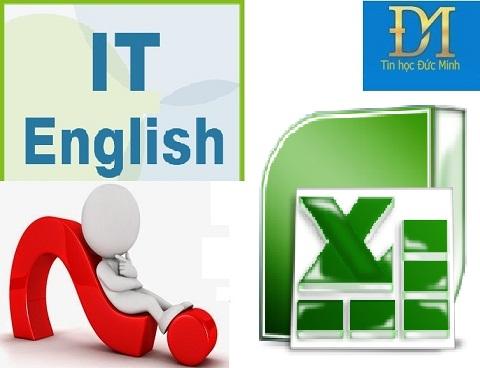 học excel bằng tiếng Anh phần 1 thẻ Home
